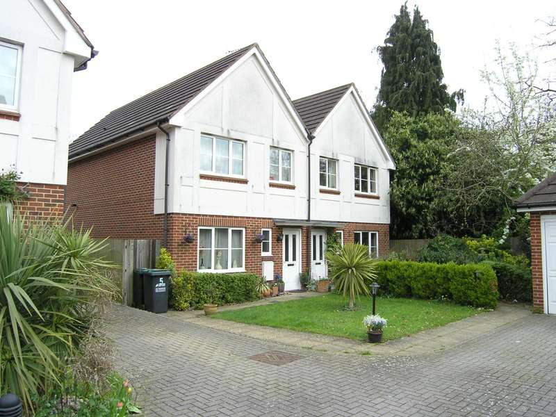 3 Bedrooms Semi Detached House for sale in Nursery Close, Oxhey Hall