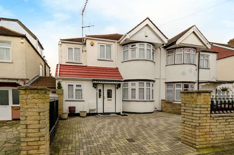 5 Bedrooms Semi Detached House for sale in Weald Lane, Harrow Weald, HA3