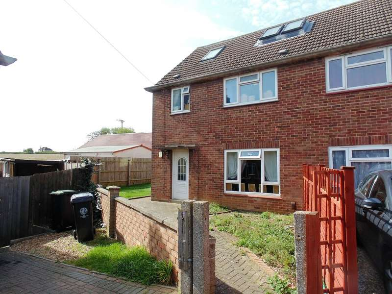 4 Bedrooms Semi Detached House for sale in Clarke Close