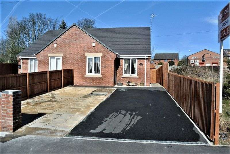 2 Bedrooms Semi Detached Bungalow for sale in Vicars Court, Clipstone Village