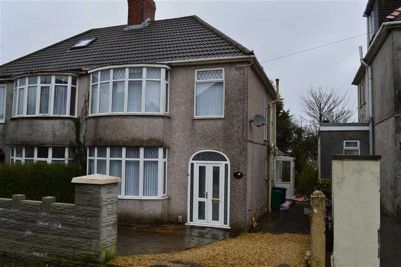 3 Bedrooms Semi Detached House for sale in Lon Cothi, Swansea, SA2