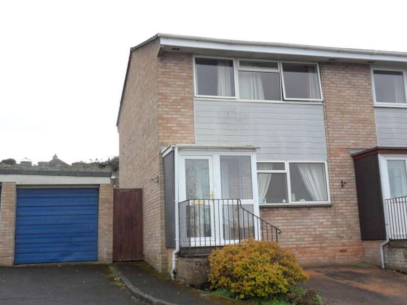 3 Bedrooms Semi Detached House for sale in Westward Drive, Exmouth