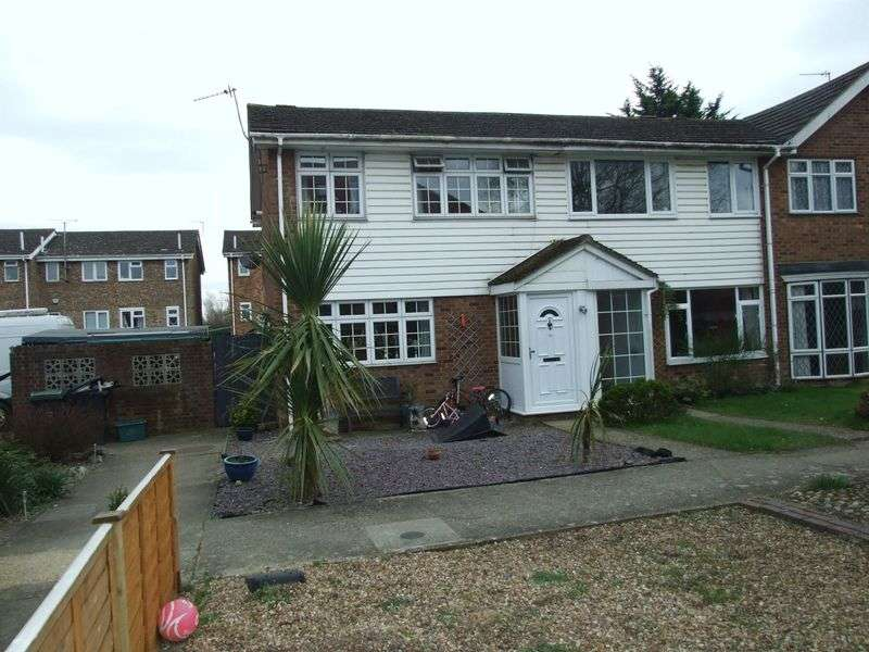 3 Bedrooms House for sale in A THREE BEDROOM END OF TERRACE HOUSEWITH CONSERVATORY AND PARKING