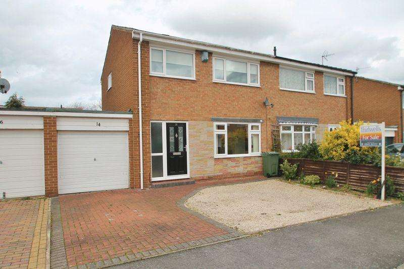 3 Bedrooms Semi Detached House for sale in Horsley Way, Billingham