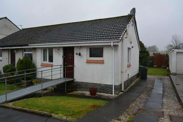 2 Bedrooms Semi Detached Bungalow for sale in 53 Lochalsh Crescent, Milton of Campsie, Glasgow, G66 8EY