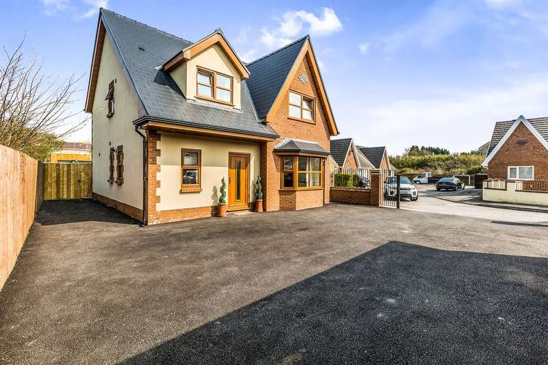 5 Bedrooms Detached House for sale in Pentre Bach, Gendros, Swansea