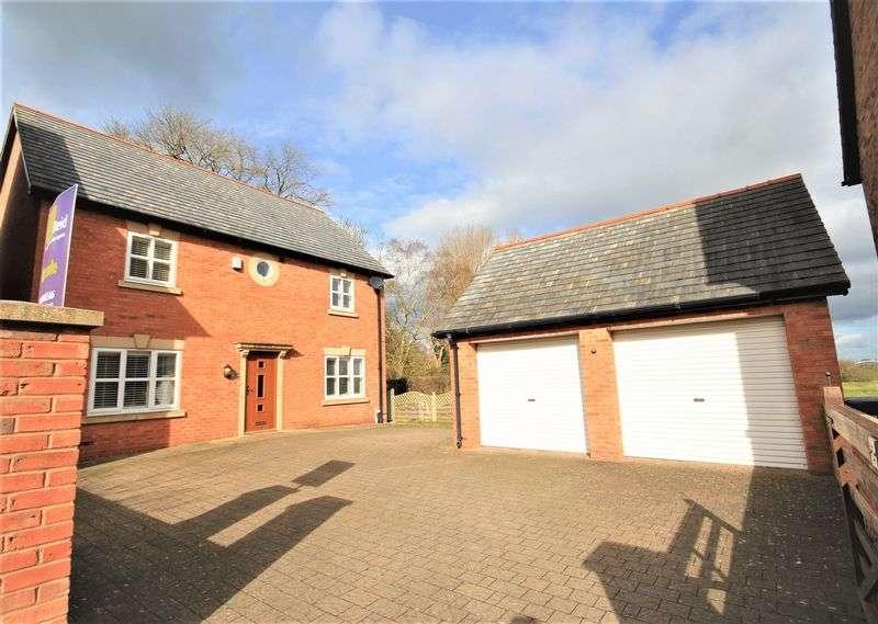4 Bedrooms Detached House for sale in Chapel Gardens, Penley, Nr Wrexham
