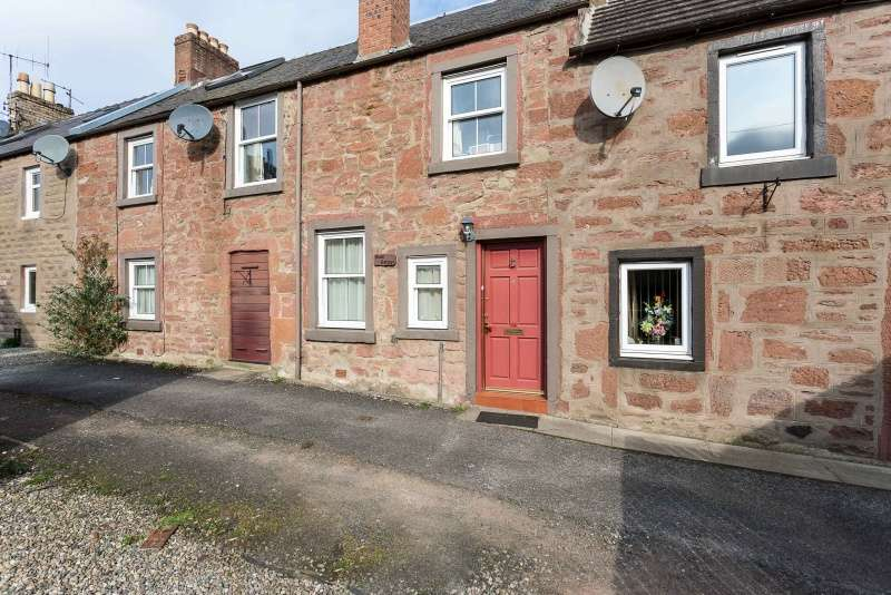 2 Bedrooms Terraced House for sale in Elders Close, Kirriemuir, Angus, DD8 4GT
