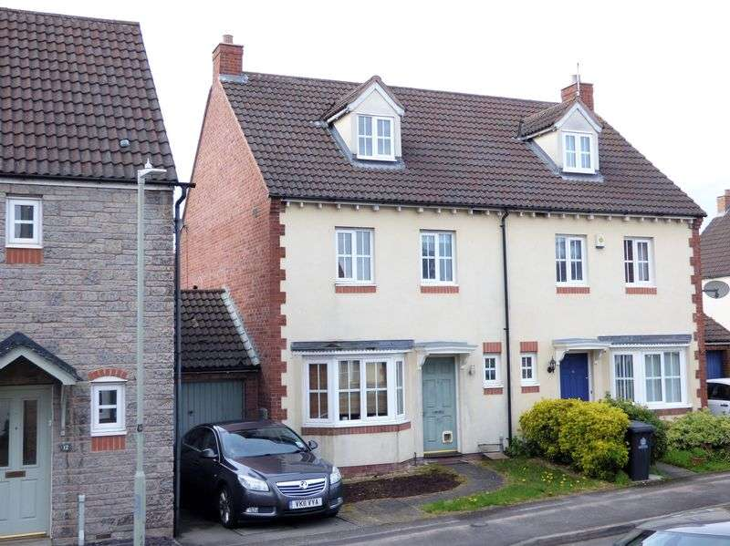 4 Bedrooms Semi Detached House for sale in Spoonbill Close, Gloucester