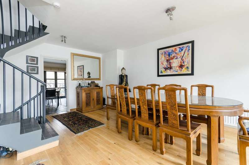 5 Bedrooms Terraced House for sale in Chancellors Wharf, Hammersmith, W6
