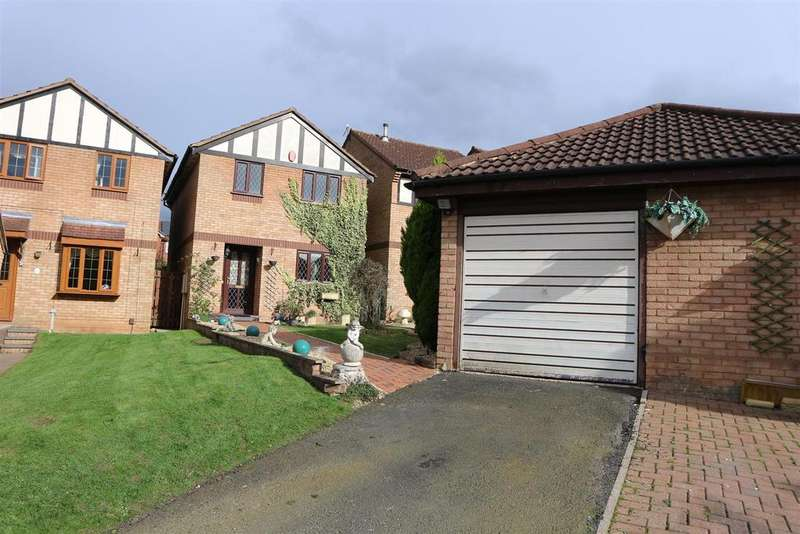 4 Bedrooms Detached House for sale in Burns Close, Stourbridge