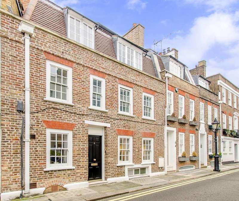 3 Bedrooms Terraced House for sale in Fairholt Street, Knightsbridge, SW7