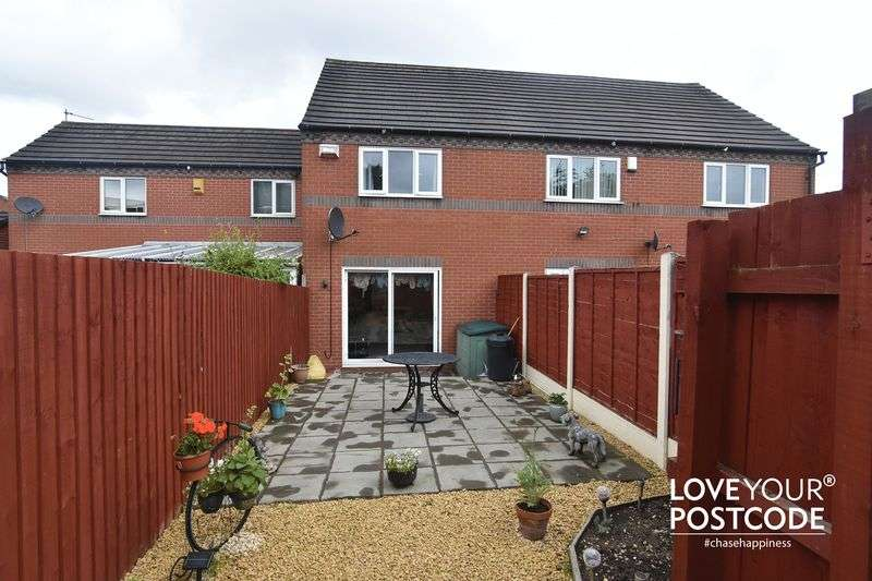 2 Bedrooms Terraced House for sale in Charlotte Close, Oldbury B69 2LZ