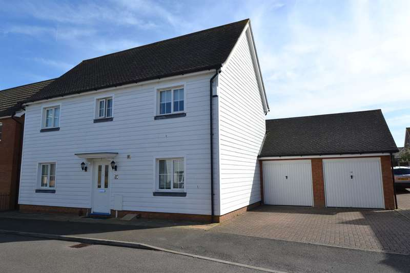 4 Bedrooms Detached House for sale in Aurelie Way, Whitstable