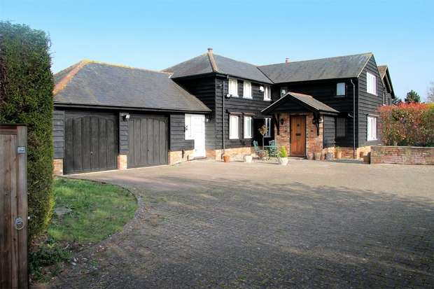 4 Bedrooms Barn Conversion Character Property for sale in West End Place, Weston Turville, Buckinghamshire