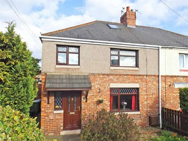 3 Bedrooms Semi Detached House for sale in Derwent Road, Ferryhill, Durham