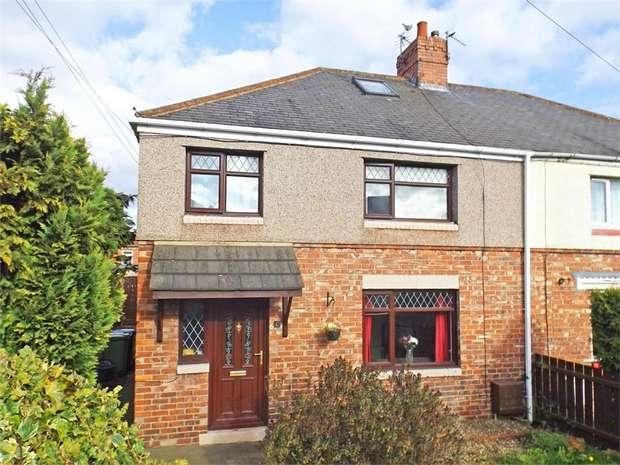 3 Bedrooms Semi Detached House for sale in Derwent Road, Ferryhill, Durham