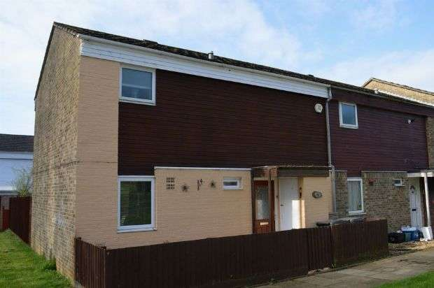 3 Bedrooms End Of Terrace House for sale in Tyes Court , Lings, Northampton NN3 8LP