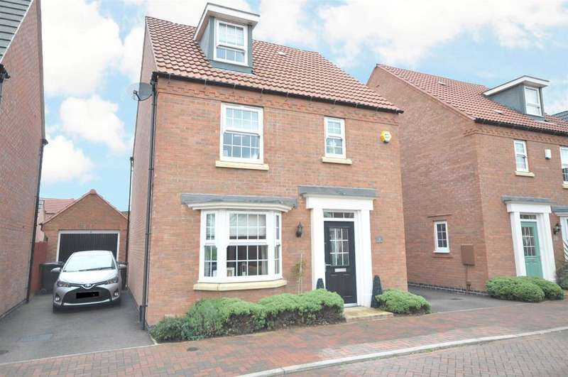 4 Bedrooms Detached House for sale in Firefly Close, Newton, Nottingham