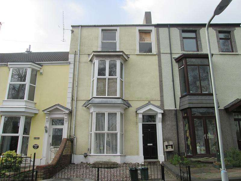 1 Bedroom Ground Maisonette Flat for sale in The Grove , Uplands, Swansea, City County of Swansea.