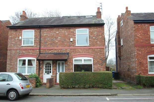 3 Bedrooms Semi Detached House for sale in Brien Avenue, Altrincham