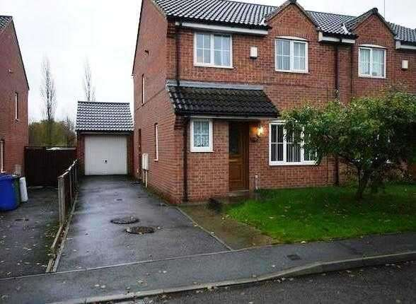 3 Bedrooms Semi Detached House for sale in Frecheville Street, Chesterfield