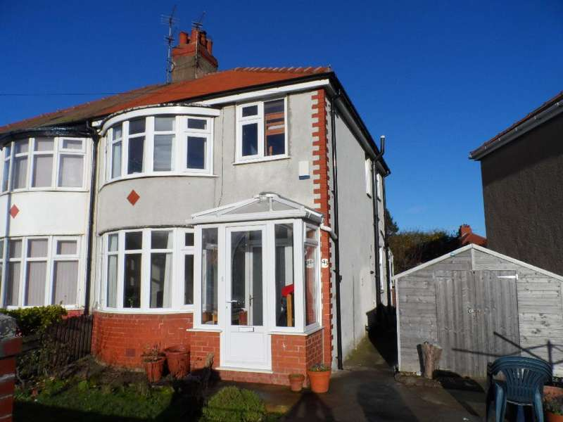 3 Bedrooms Semi Detached House for sale in Luton Road, Cleveleys, FY5 3ED