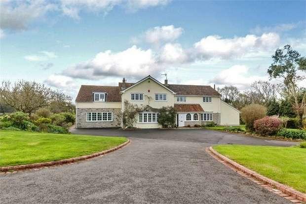 5 Bedrooms Detached House for sale in Stone Allerton, Axbridge, Somerset