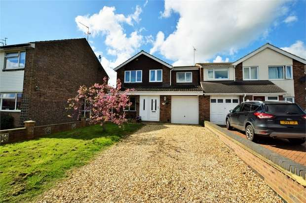 4 Bedrooms Detached House for sale in Johns Road, Bugbrooke, NORTHAMPTON