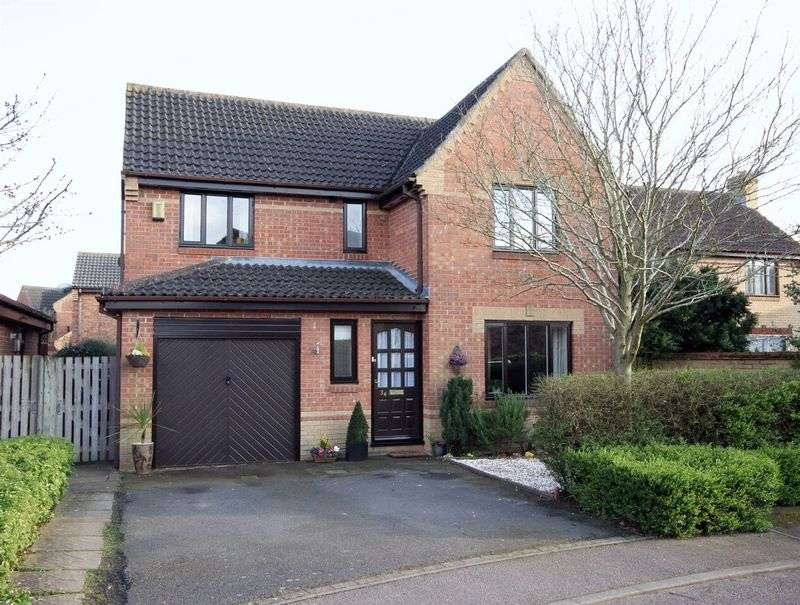 4 Bedrooms Detached House for sale in Beech Drive, Brackley