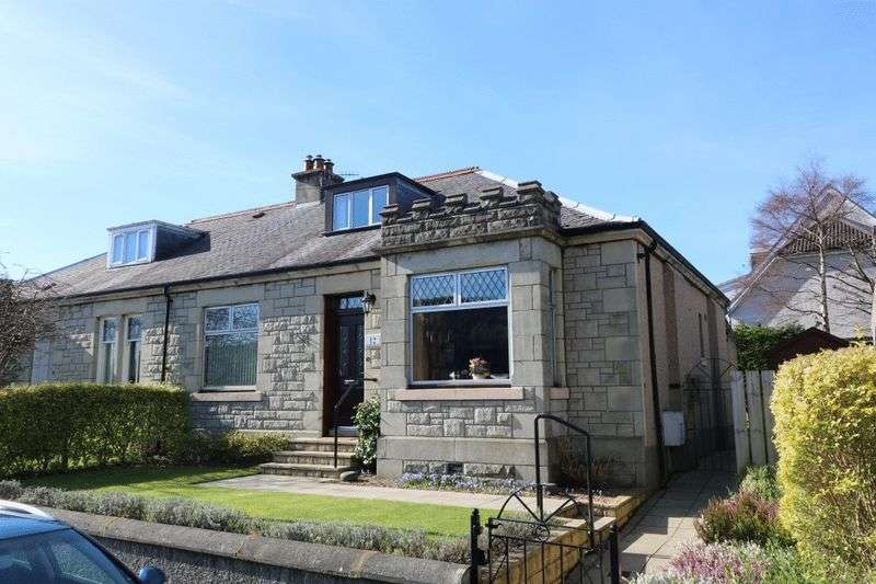 3 Bedrooms Semi Detached Bungalow for sale in Braelossie , 12 Connor Street, Peebles
