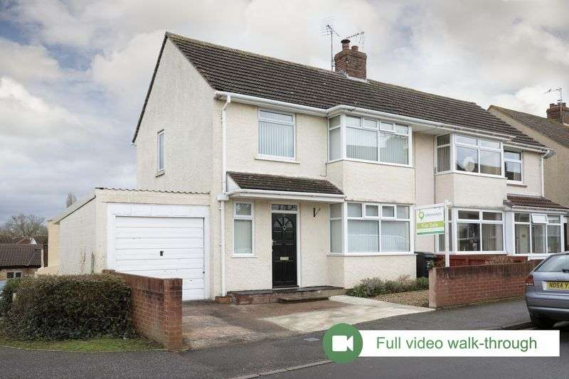 3 Bedrooms Semi Detached House for sale in Cory Road, Taunton