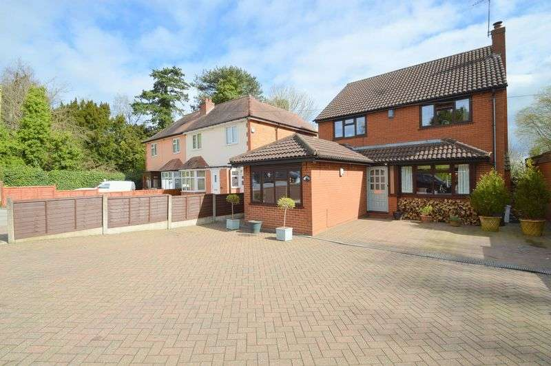 4 Bedrooms Detached House for sale in Evesham Road, Headless Cross