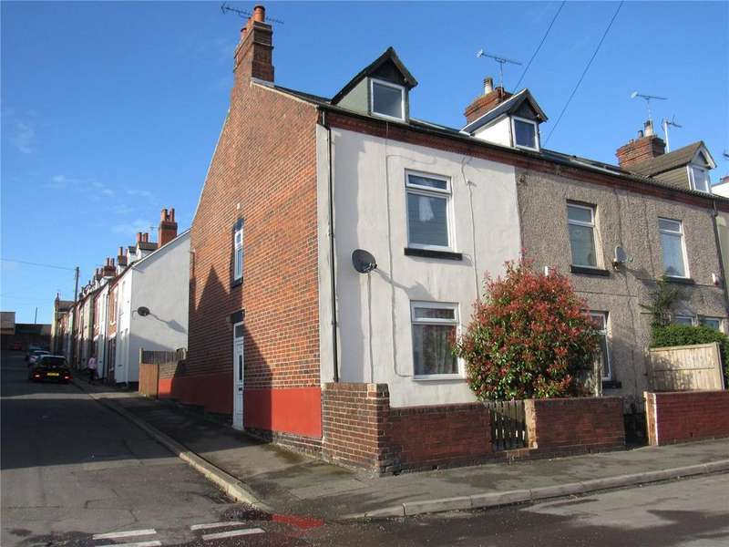 3 Bedrooms End Of Terrace House for sale in Park Street, Mansfield Woodhouse, Nottinghamshire, NG19