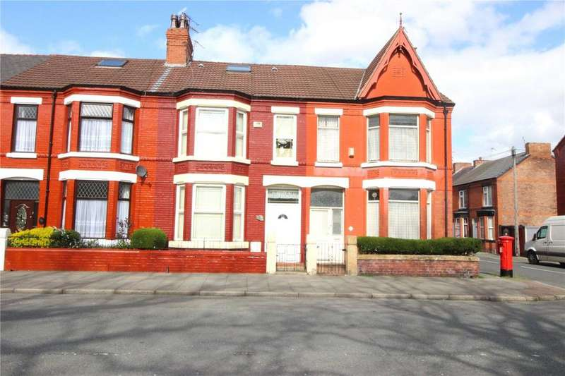 3 Bedrooms Terraced House for sale in Park Road North, Birkenhead, Merseyside, CH41