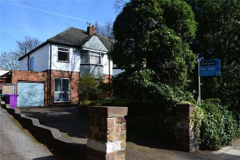 3 Bedrooms Semi Detached House for sale in Woolton Hill Road, Liverpool, Merseyside, L25