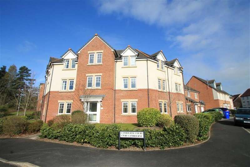 2 Bedrooms Apartment Flat for sale in Lambourne Court, Gwersyllt, Wrexham