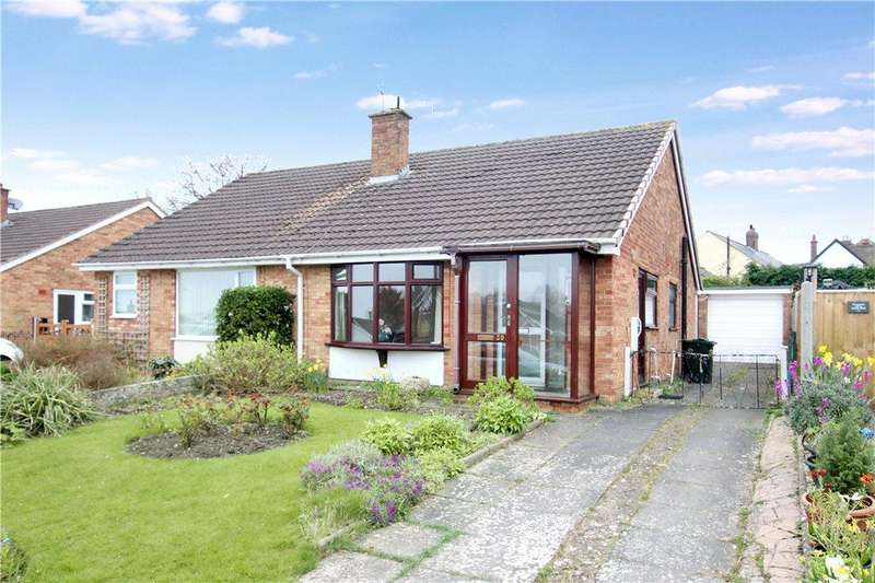 2 Bedrooms Semi Detached Bungalow for sale in St Bernard Drive, Malvern, Worcestershire, WR14