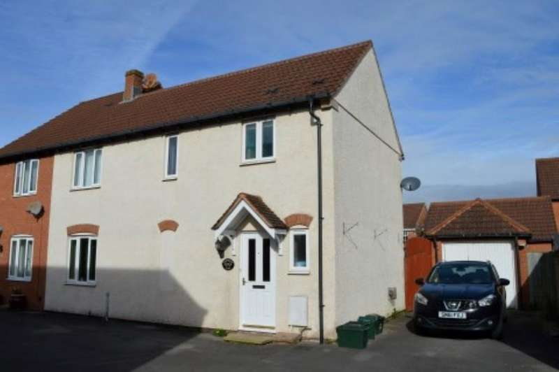 3 Bedrooms Semi Detached House for sale in Carberry View, Weston-super-Mare