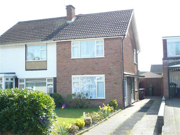 2 Bedrooms Semi Detached House for sale in Carol Crescent, Lyndale Park, Wednesfield