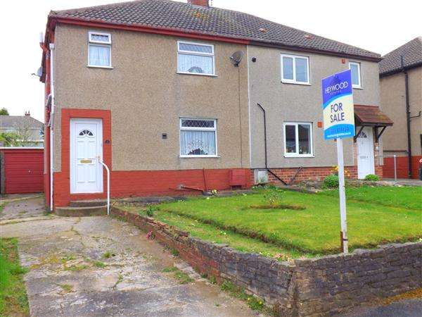 3 Bedrooms Semi Detached House for sale in Central Avenue, Creswell, Worksop