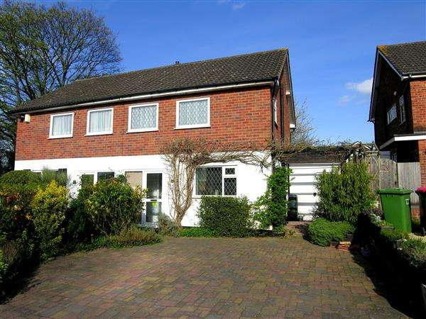 3 Bedrooms Semi Detached House for sale in St Pauls Crescent, Coleshill