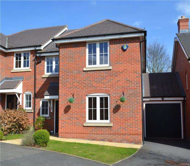 4 Bedrooms Semi Detached House for sale in Manders Croft, Southam, Long Itchington