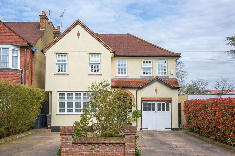 5 Bedrooms Detached House for sale in Hill Crescent, Totteridge, London, N20