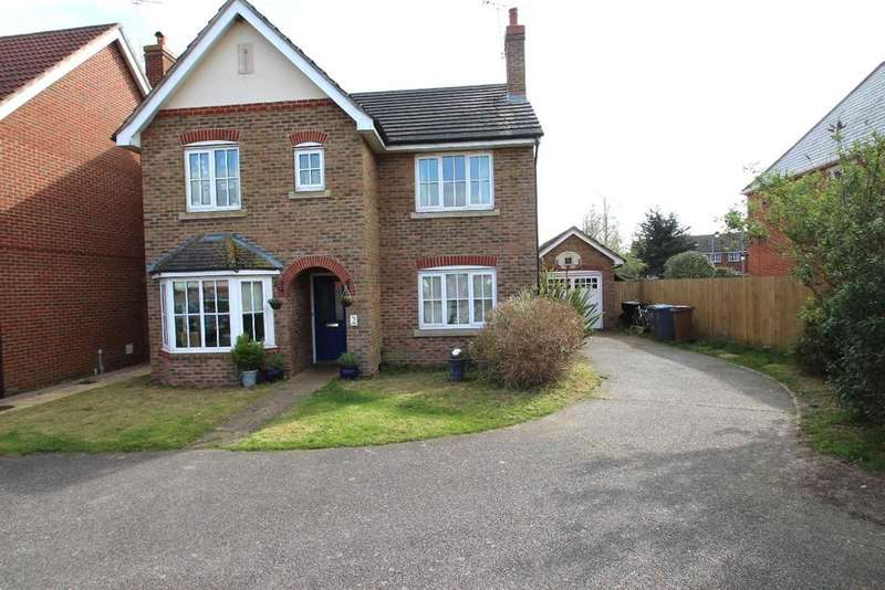 4 Bedrooms Detached House for sale in Hartree Way, Grange Farm, Kesgrave, Ipswich