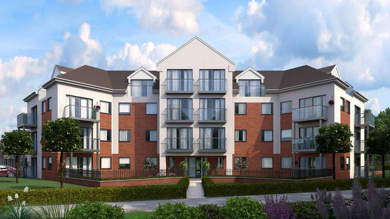 2 Bedrooms Apartment Flat for sale in Flat 3 Block G Britannia Gate, Kempston Road, Bedford, MK42