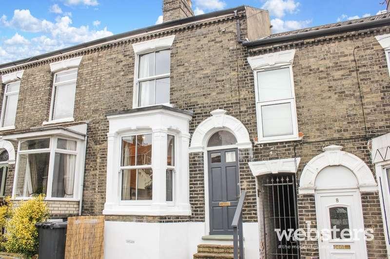 3 Bedrooms Terraced House for sale in Rutland Street, Norwich, NR2