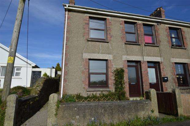 3 Bedrooms End Of Terrace House for sale in Higher Penponds Road, Higher Penponds, Camborne, Cornwall