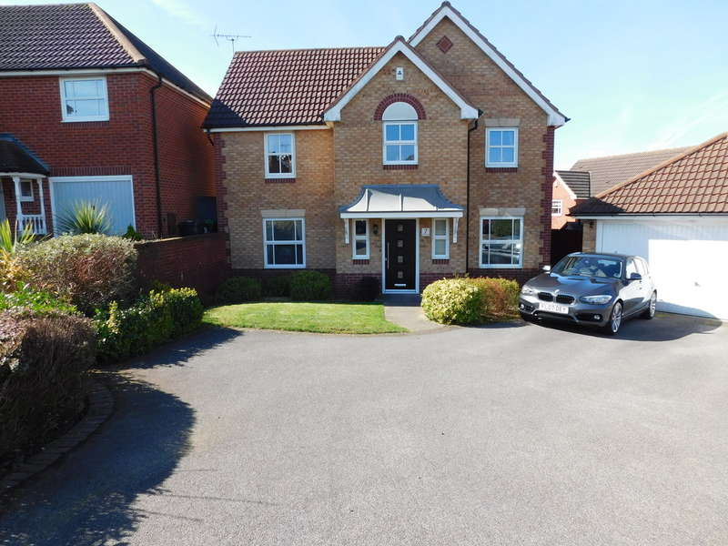 4 Bedrooms Detached House for sale in Wildflower Grove, Sutton In Ashfield