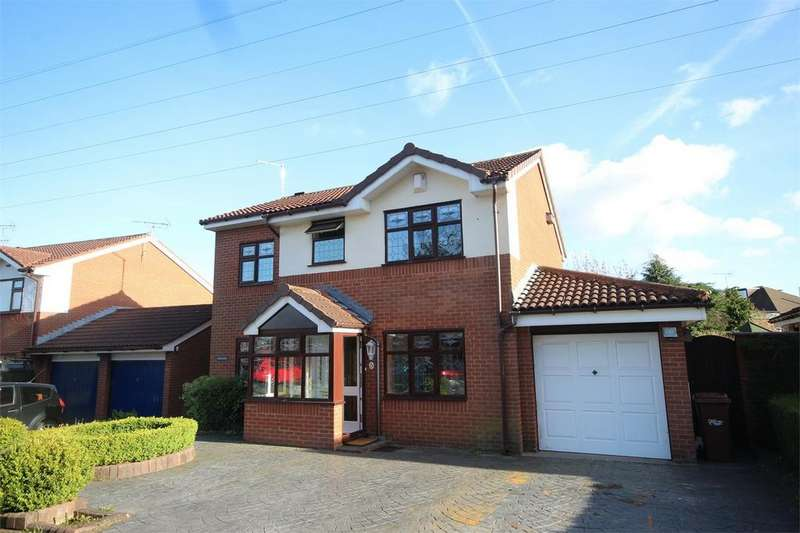 4 Bedrooms Detached House for sale in Meadowside, Ewloe, Flintshire